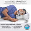 Exclusive CPAPMax CPAP pillow designed to improve your comfort and features various benefits to stay complaint