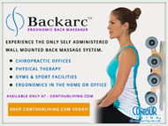 Give the Perfect At-Home Massage with the Backarc!