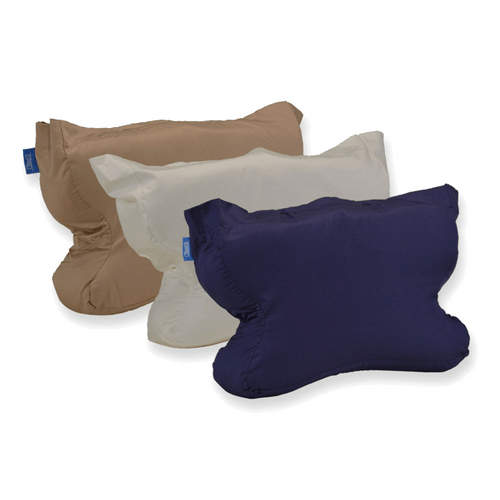 Cotton CPAP Bed Pillow Case for CPAPMax Pillow or CPAPMax Pillow 2.0 available in white, beige or navy