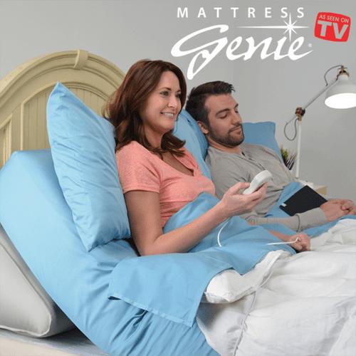 Mattress Genie Adjustable Bed Wedge Helps Reduce Acid
