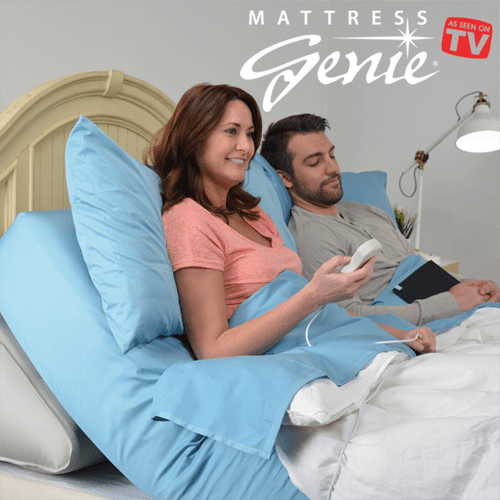 Mattress Genie Adjustable Bed Wedge Helps Reduce Acid