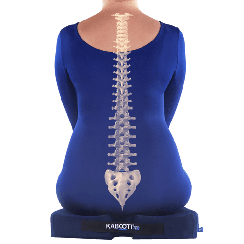 With Large Coccyx cutout, the foam donut seat allows your tailbone to rest pressure-free helping to reduce pain in your tailbone region