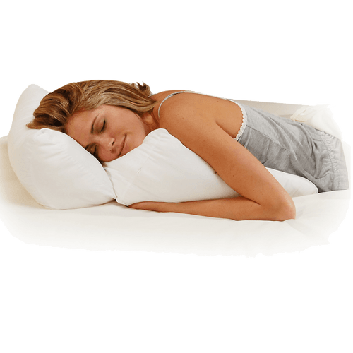 Multipurpose Flip 10 In 1 Fiber Filled Bed Wedge Pillow
