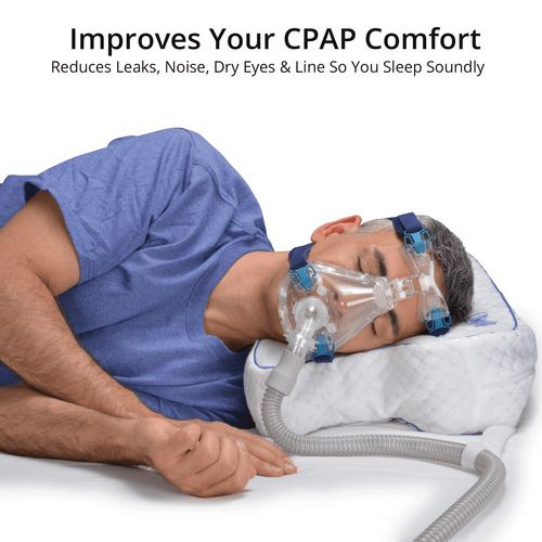 Cpap Pillow For Sleep Apnea And Improved Cpap Therapy