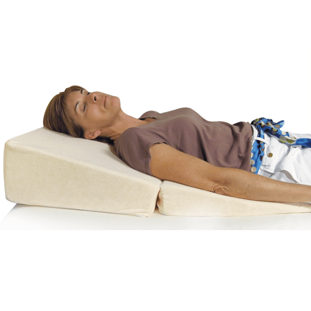 warehouse pillow blanket reading bed wedge