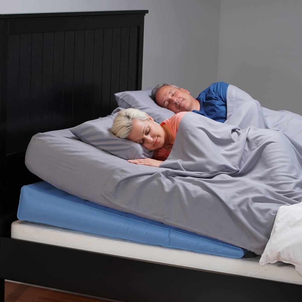 mattress genie incline sleep system acid reflux bed wedge