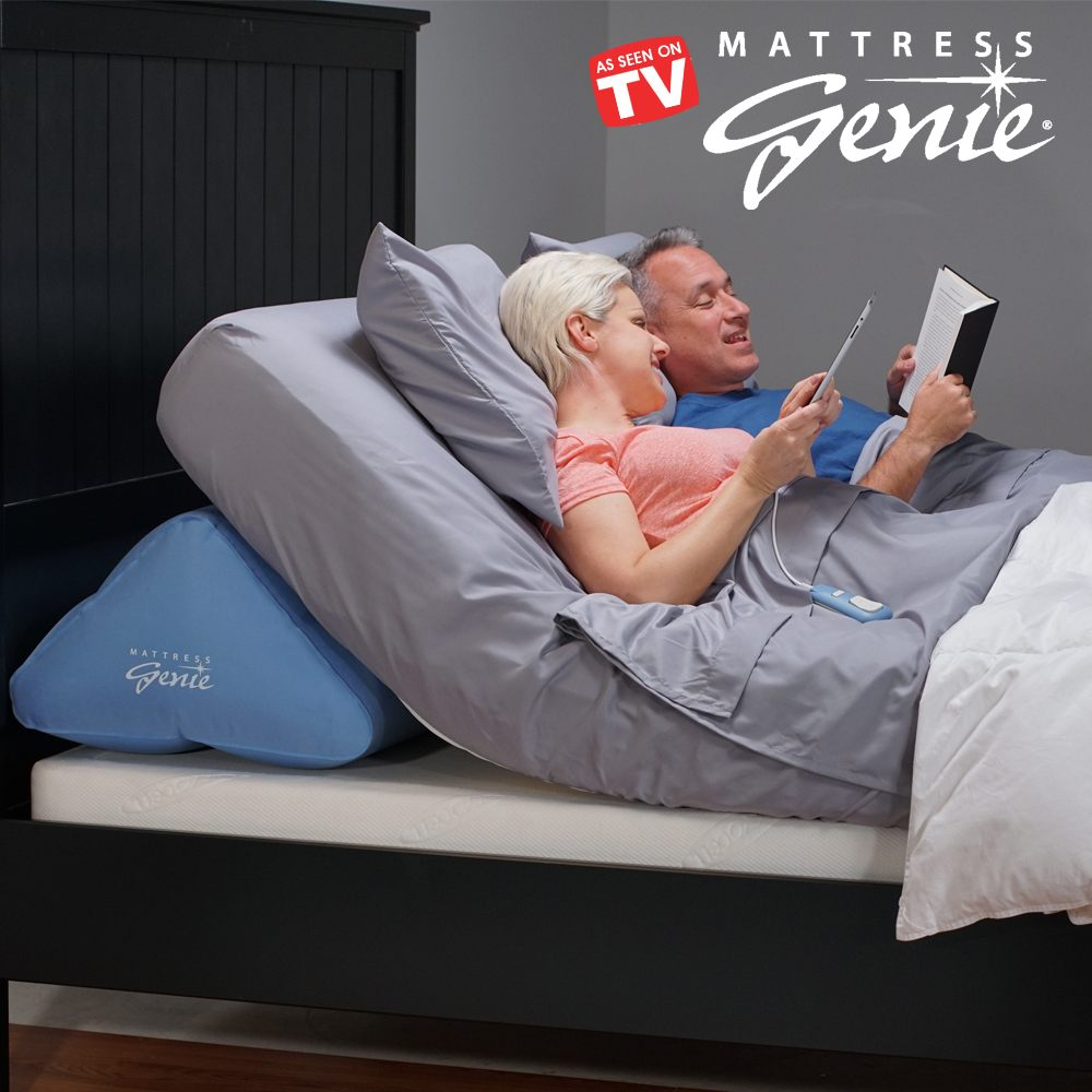 Delicieux Mattress Genie Allows You To Adjust The Elevation Of Bed For A More  Comfortable Nights Sleep