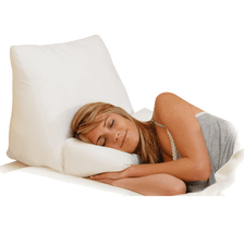 Flip over and use the head pillow only