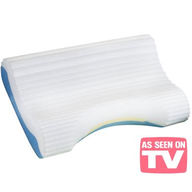 contour cloud pillow cervical neck support bed pillow. Black Bedroom Furniture Sets. Home Design Ideas