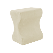 Ecru Memory Foam Contour Leg Pillow