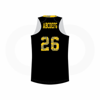 Baltimore Lions Basketball Racerback Football Jersey - Black