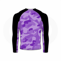 Purple Camo - Back