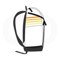 Hoops in the Sun Backpack