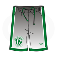 Cedar Celtics Basketball Grey Shorts