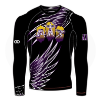 Grant You Wings Mens Long Sleeve Compression Shirt