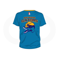 NOLA Gators Teal T-Shirt (Option 1)