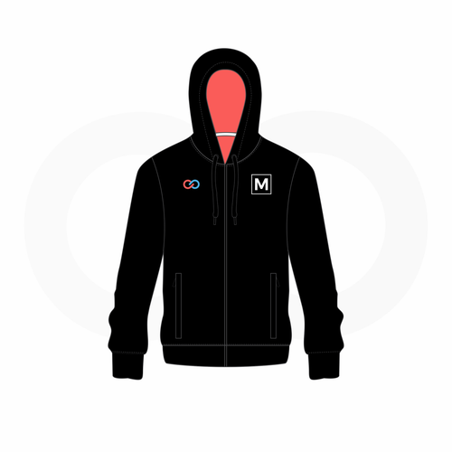 Womens Full Zip Hoodie Sizing Kit