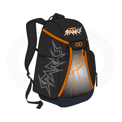 Tennessee Sparks Basketball Backpack