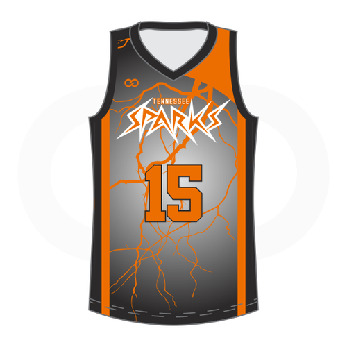Tennessee Sparks Basketball Jersey Home