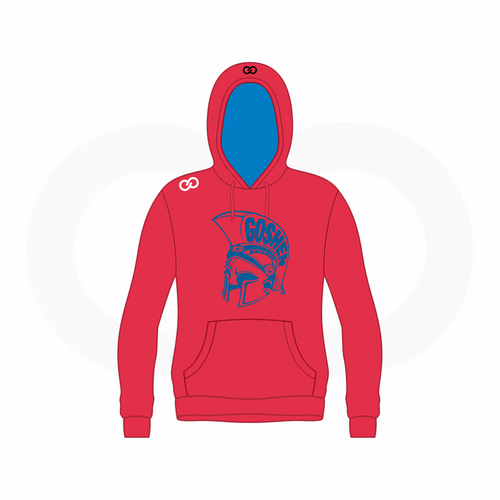 Goshen Football Hoodie Red