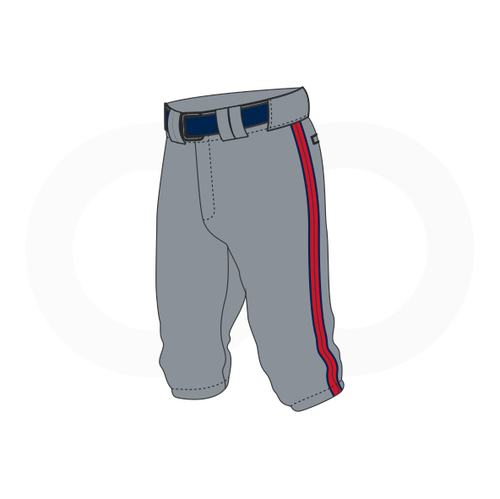 Arlington Twins Baseball Grey Knickers