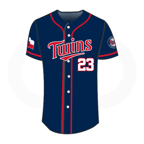 Arlington Twins Baseball Jersey Navy (Customizable)
