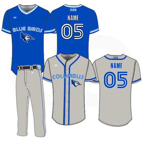 Columbus Blue Birds Package #2