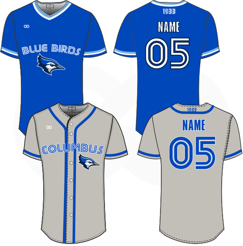 Columbus Blue Birds Package #1