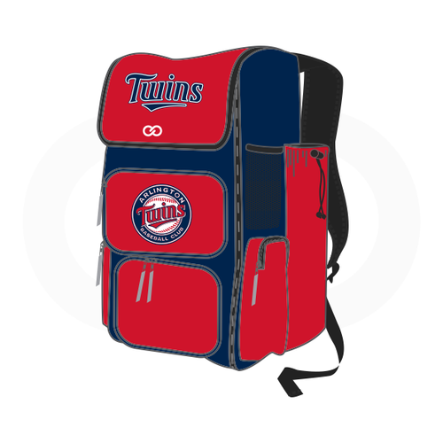 Arlington Twins Baseball Rectangular Bat Bag