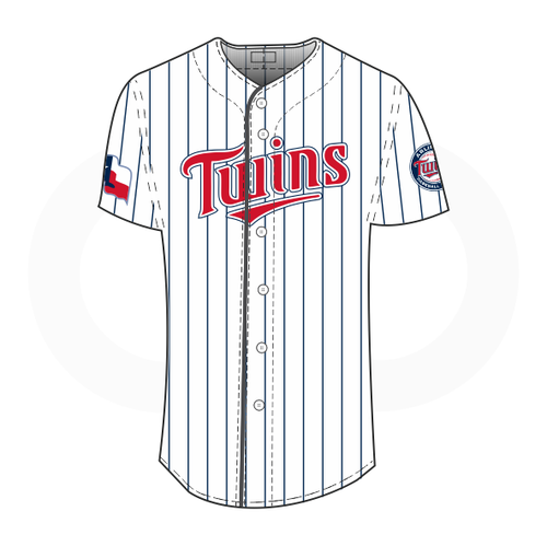 Arlington Twins Baseball Jersey White (Customizable)