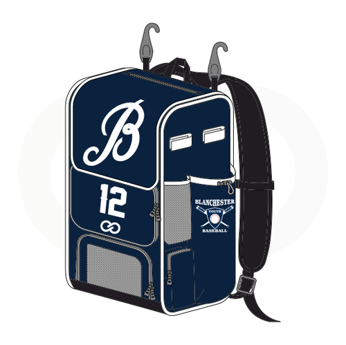 Blanchester Youth Baseball Rectangular Bat Bag