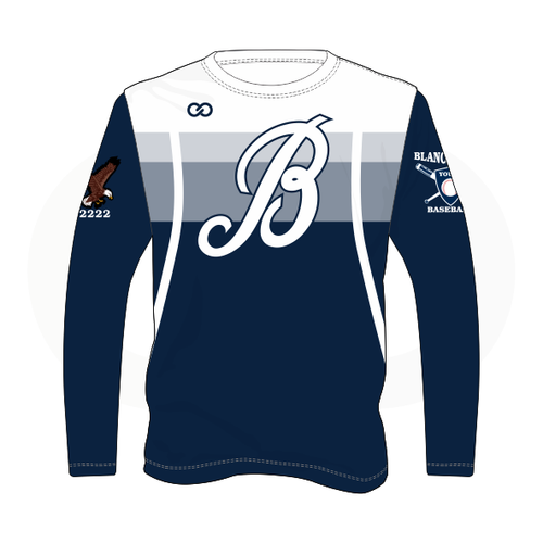 Blanchester Youth Baseball Long Sleeve Shirt