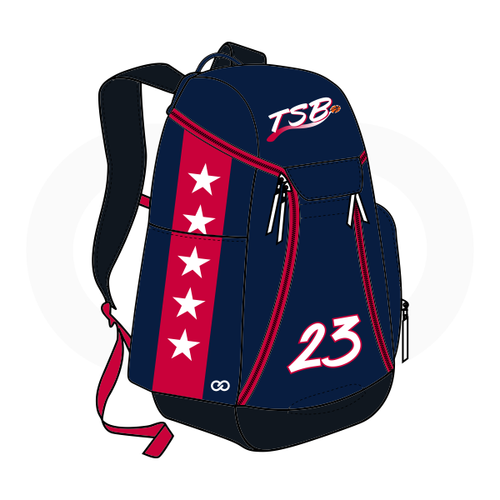 Tamar Slay Basketball Backpack (Option 1)