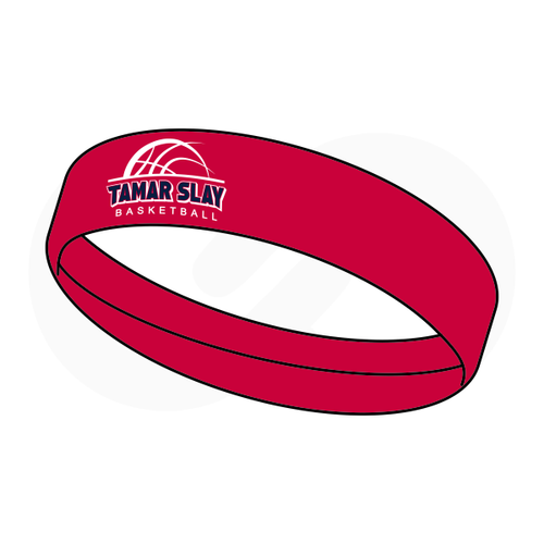 Tamar Slay Red Headband