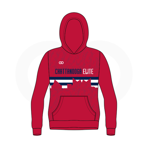 Chattanooga Elite Basketball FC Hoodie - Red