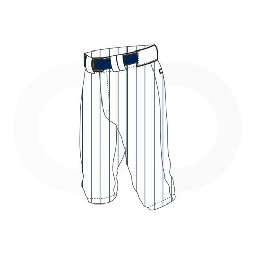 Arlington Twins Baseball White Knickers