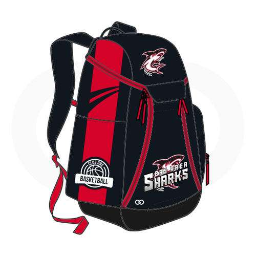 Club One Bay Area Shark Basketball Backpack