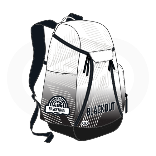 Club One Blackout Basketball Backpack