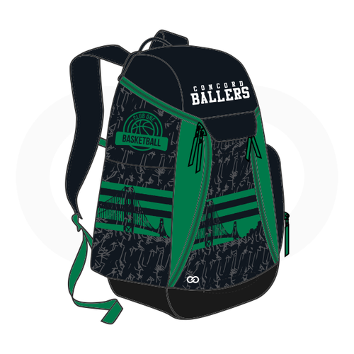 Club One Concord Ballers Basketball Backpack