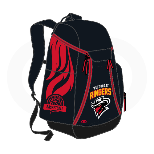 Club One West Coast Ringers Basketball Backpack
