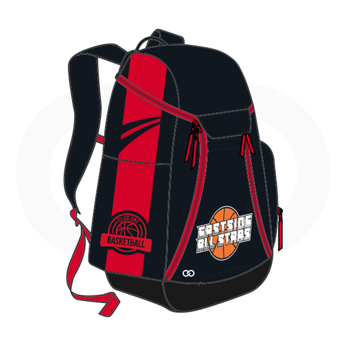 Club One East Sides All Stars Basketball Backpack