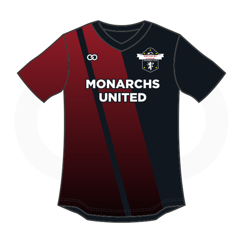 Monarchs United Soccer Jersey - Black