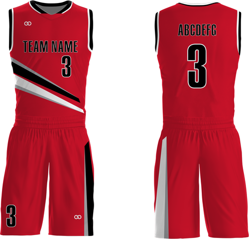 Trailblazers - Custom Basketball Uniform Full Set