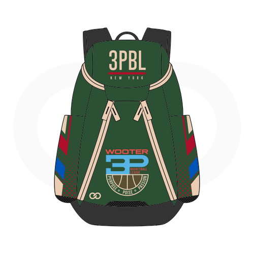 3PBL Bucks Basketball Backpack