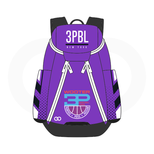 3PBL Kings Basketball Backpack