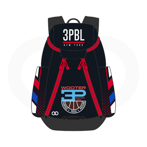 3PBL Clippers Basketball Backpack