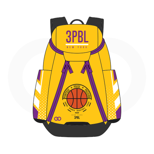 3PBL Lakers Basketball Backpack