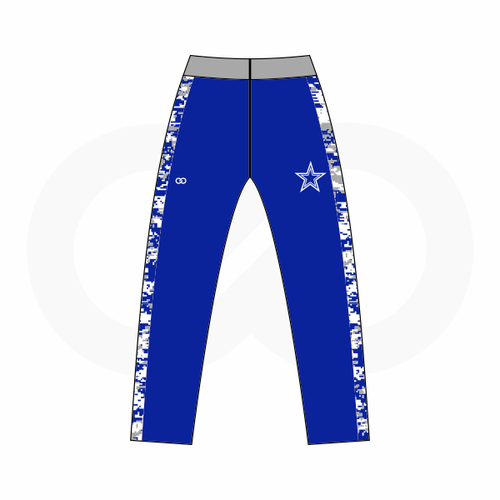 Blue Star Cowboys Track Pants