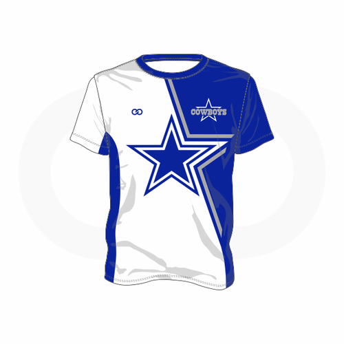 Blue Star Cowboys T-Shirt (White)