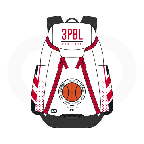 3PBL Raptors Basketball Backpack